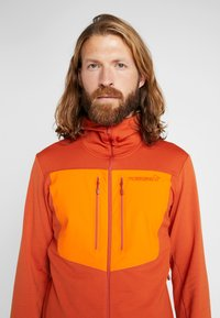 Norrøna - LYNGEN POWERSTRETCH PRO ZIP HOODIE - Fleece jacket - rooibos tea - 7