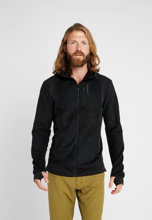 LOFOTEN ALPHA ZIP HOODIE - Fleece jacket - caviar