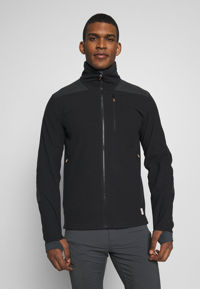 SVALBARD WARM JACKET  - Fleecejacka - caviar