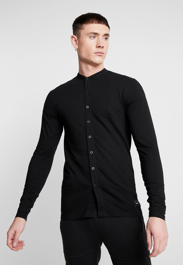 HAMBURG GRANDAD - Shirt - black