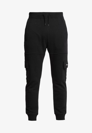 CHARLES - Pantaloni cargo - black