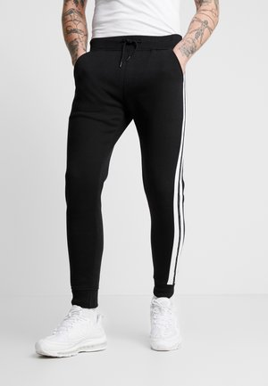 ALBEE JOG - Trainingsbroek - black