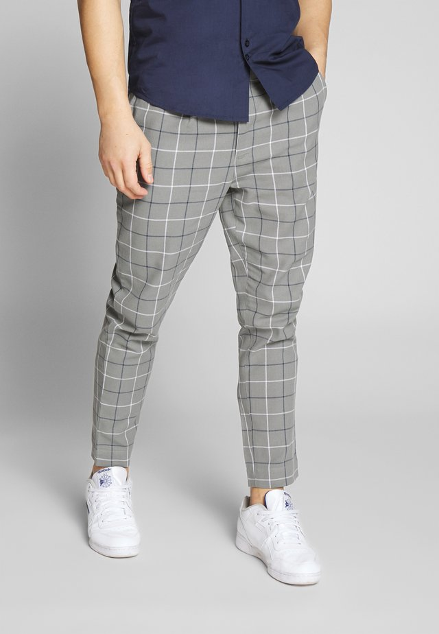 LANE TROUSER - Tygbyxor - grey