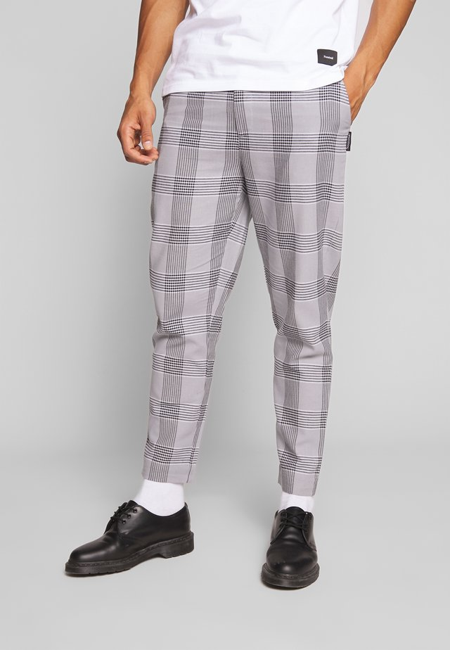 WILL TROUSER - Tygbyxor - light grey