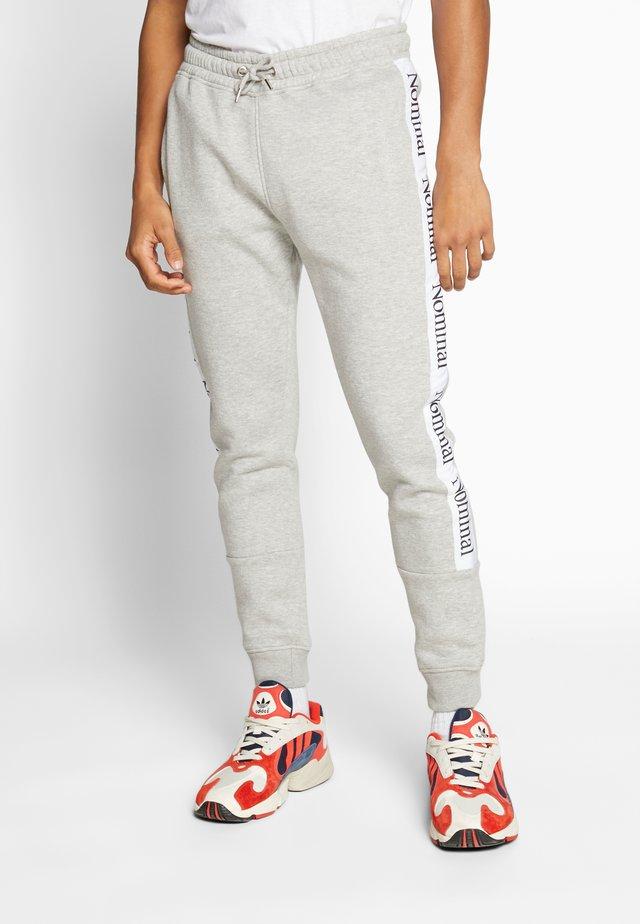 KRIS - Teplákové kalhoty - heather grey