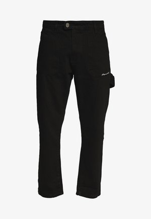 COLLIER PANT - Jeans straight leg - black