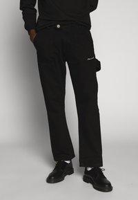 Nominal - COLLIER PANT - Straight leg jeans - black - 2