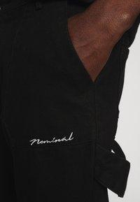 Nominal - COLLIER PANT - Straight leg jeans - black - 3