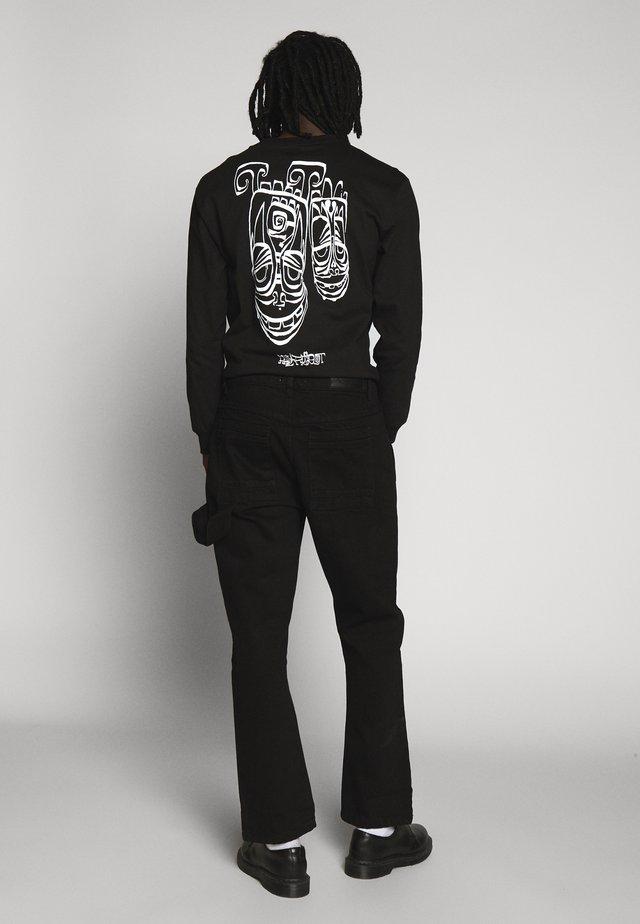 COLLIER PANT - Jeans Straight Leg - black