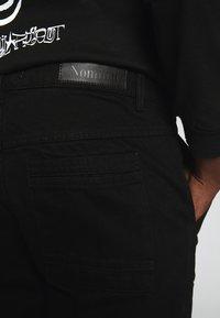 Nominal - COLLIER PANT - Straight leg jeans - black - 4