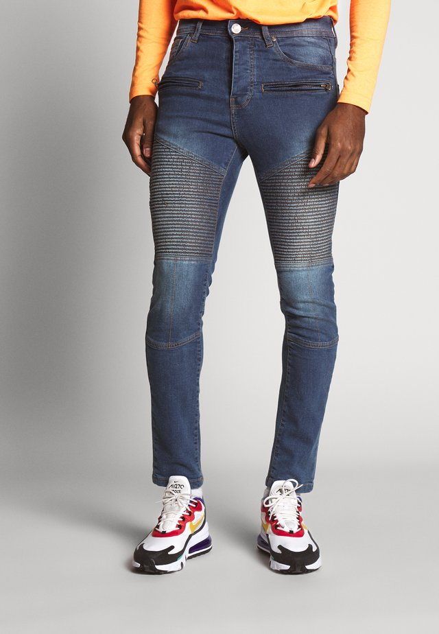 BRIDGE - Slim fit jeans - light blue denim