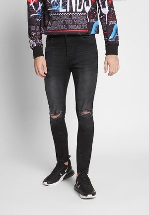PITT - Jeans Skinny Fit - black denim