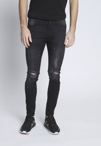 Nominal - SYDNEY - Jeans Skinny Fit - black denim - 0