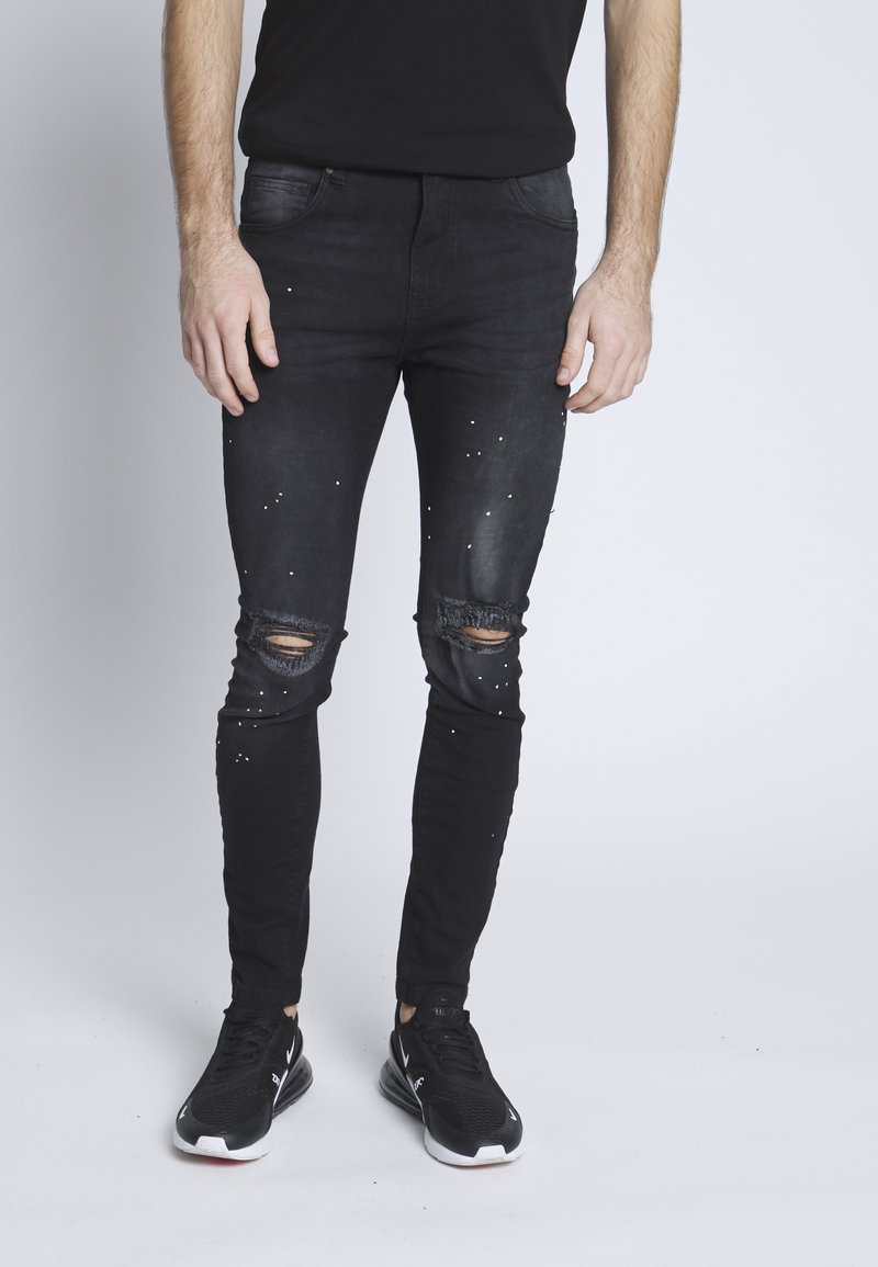 Nominal - SYDNEY - Jeans Skinny Fit - black denim