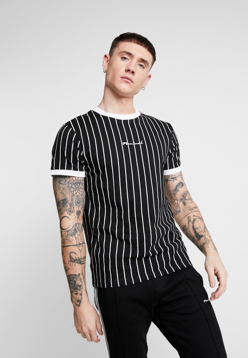Nominal - SNOW - T-shirt med print - black