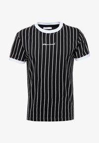 Nominal - SNOW - T-shirt med print - black - 4