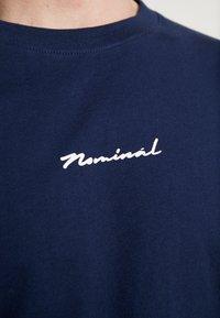 Nominal - WORTH - Print T-shirt - navy - 5