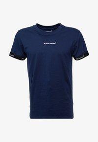 Nominal - WORTH - Print T-shirt - navy - 4