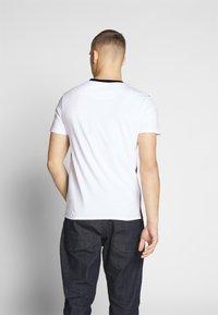 Nominal - LIME - Print T-shirt - burgundy - 2