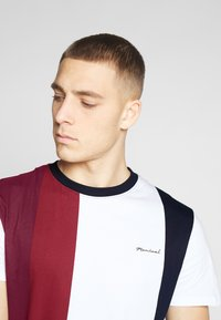 Nominal - LIME - Print T-shirt - burgundy - 4