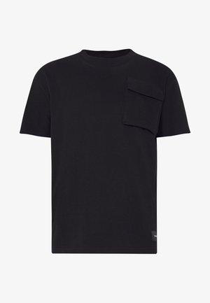 FULTON - T-shirt z nadrukiem - black