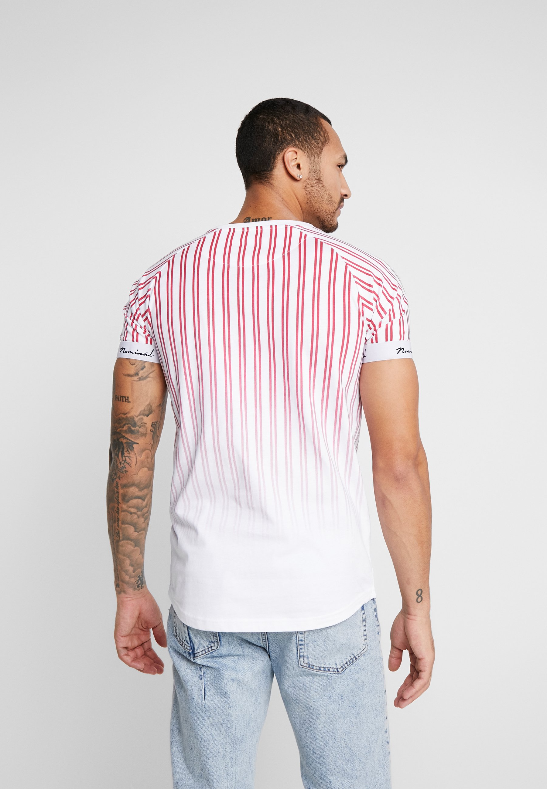 Nominal Times - T-shirt Print Red