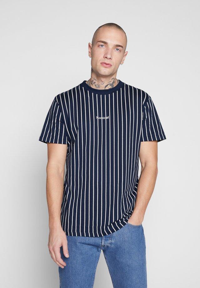 DALI TEE - T-shirt z nadrukiem - navy