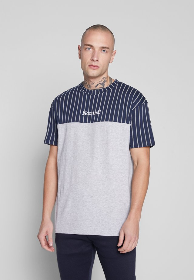 REEVE TEE - Print T-shirt - heather grey