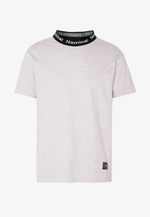 SANDER TEE - Triko s potiskem - heather grey