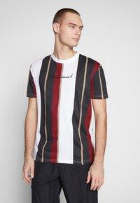Nominal - DENIZ TEE - Print T-shirt - mustard - 0