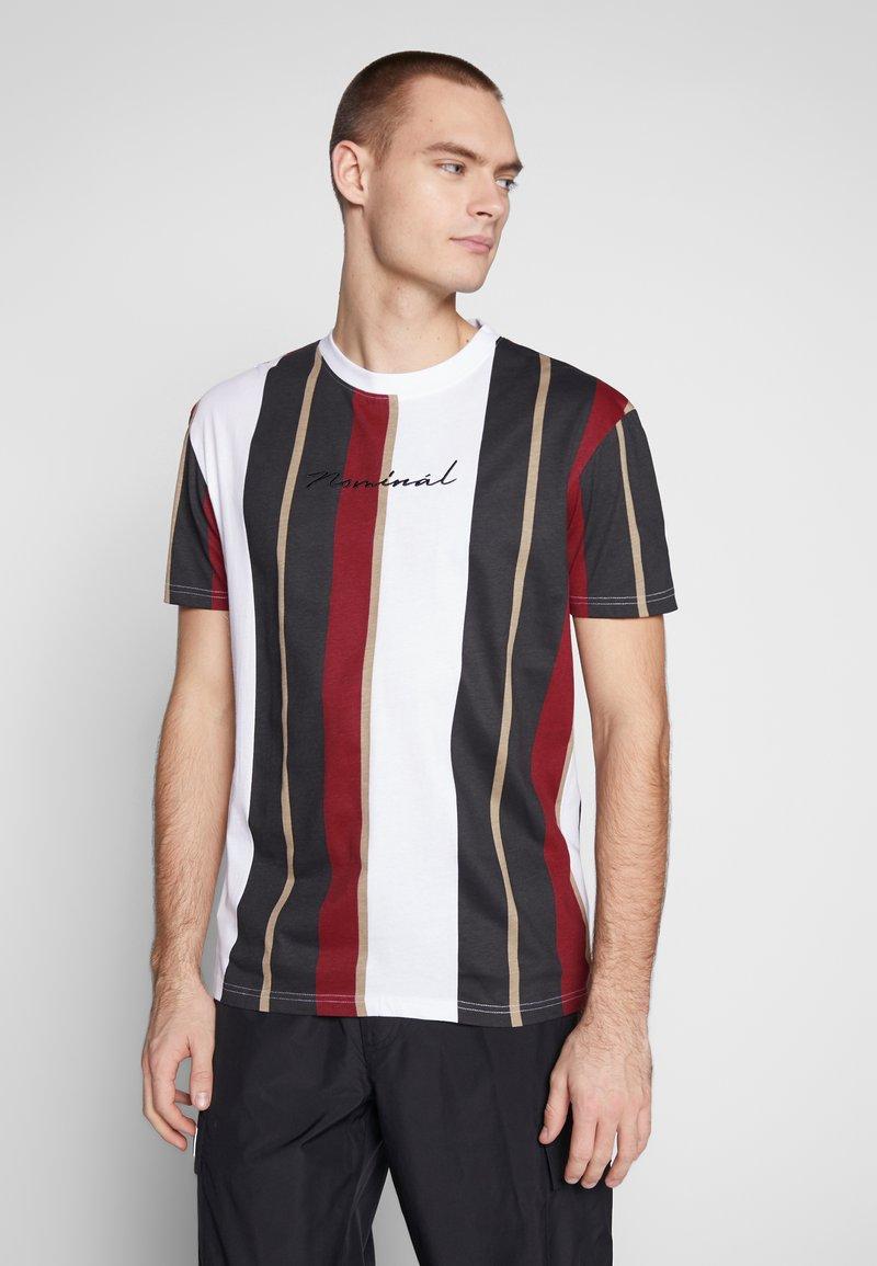 Nominal - DENIZ TEE - Print T-shirt - mustard