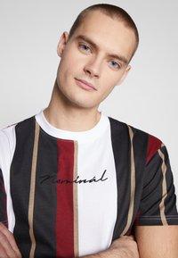 Nominal - DENIZ TEE - Print T-shirt - mustard - 4
