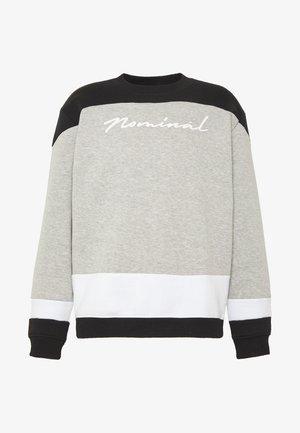 FRANKY TEE - Sweatshirt - heather grey