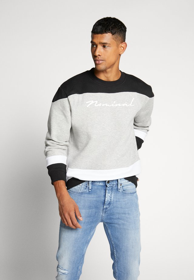 FRANKY TEE - Sweatshirt - heather grey