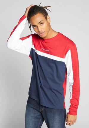 ROWAN TEE - Langærmede T-shirts - navy