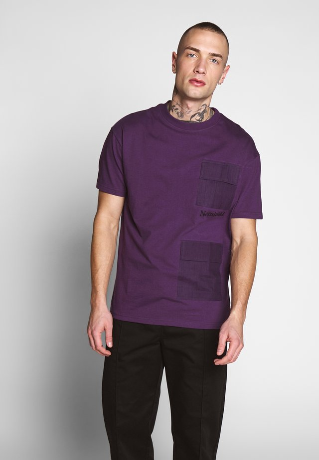 PARKER TEE - Print T-shirt - purple