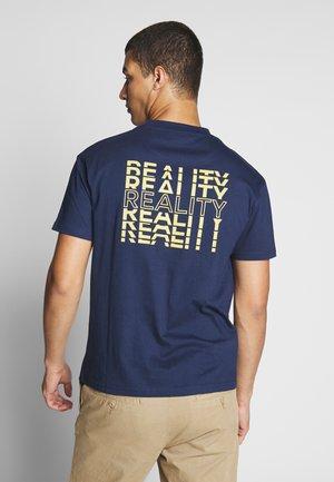 REAL TEE - T-shirt basic - navy