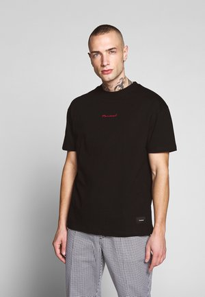 REAL TEE - T-shirt - bas - black