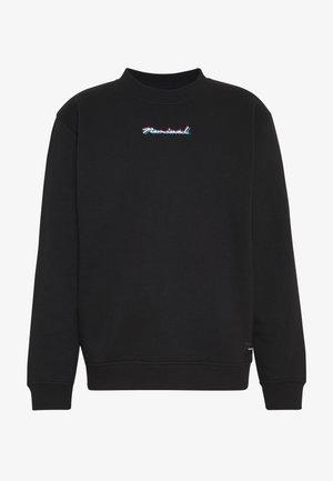 DOUBLE - Sweater - black