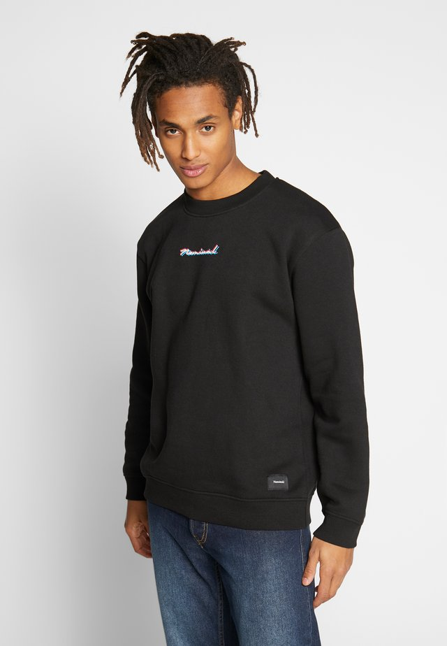 DOUBLE - Sweatshirt - black