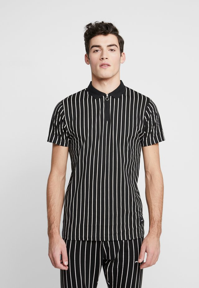 FAYYUM - Koszulka polo - black