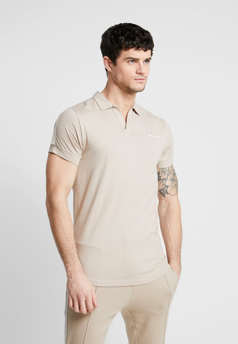 Nominal - FOSTER  - Polo shirt - sand