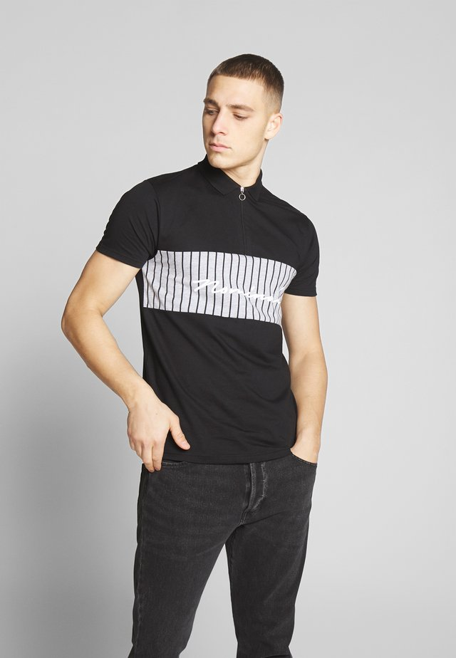CONRAD - Koszulka polo - black