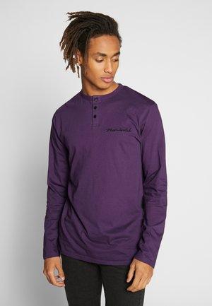 WYATT  - Långärmad tröja - purple