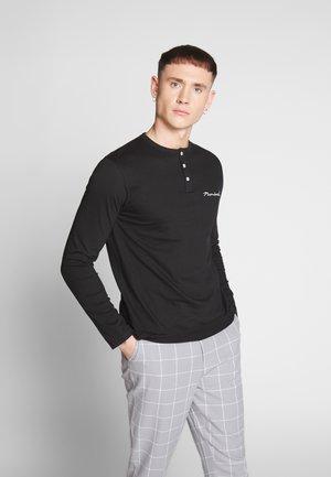 WYATT  - Long sleeved top - black