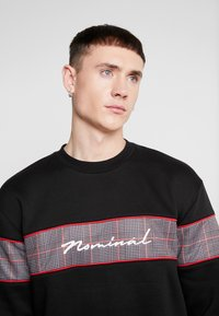 Nominal - GRESHAM CREW - Sweater - black - 3