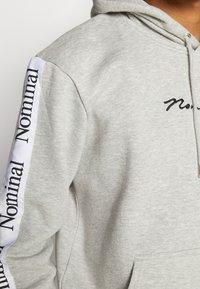 Nominal - ARCHER HOOD - Hoodie - heather grey - 4
