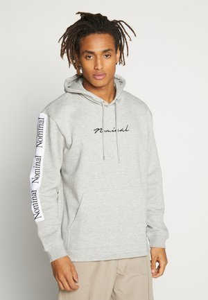 ARCHER HOOD - Hoodie - heather grey