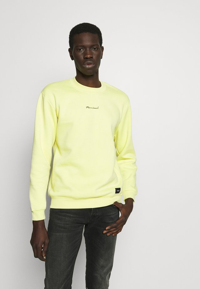 REALITY CREW - Felpa - pastel neon yellow