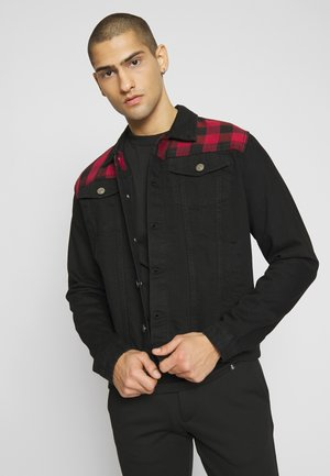 ALDANA - Denim jacket - black